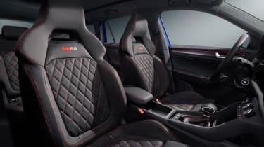 2021 Skoda Kodiaq vRS - front seats