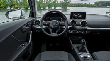 Audi Q2 SUV interior
