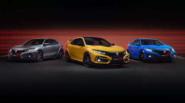 2020 Honda Civic Type R models