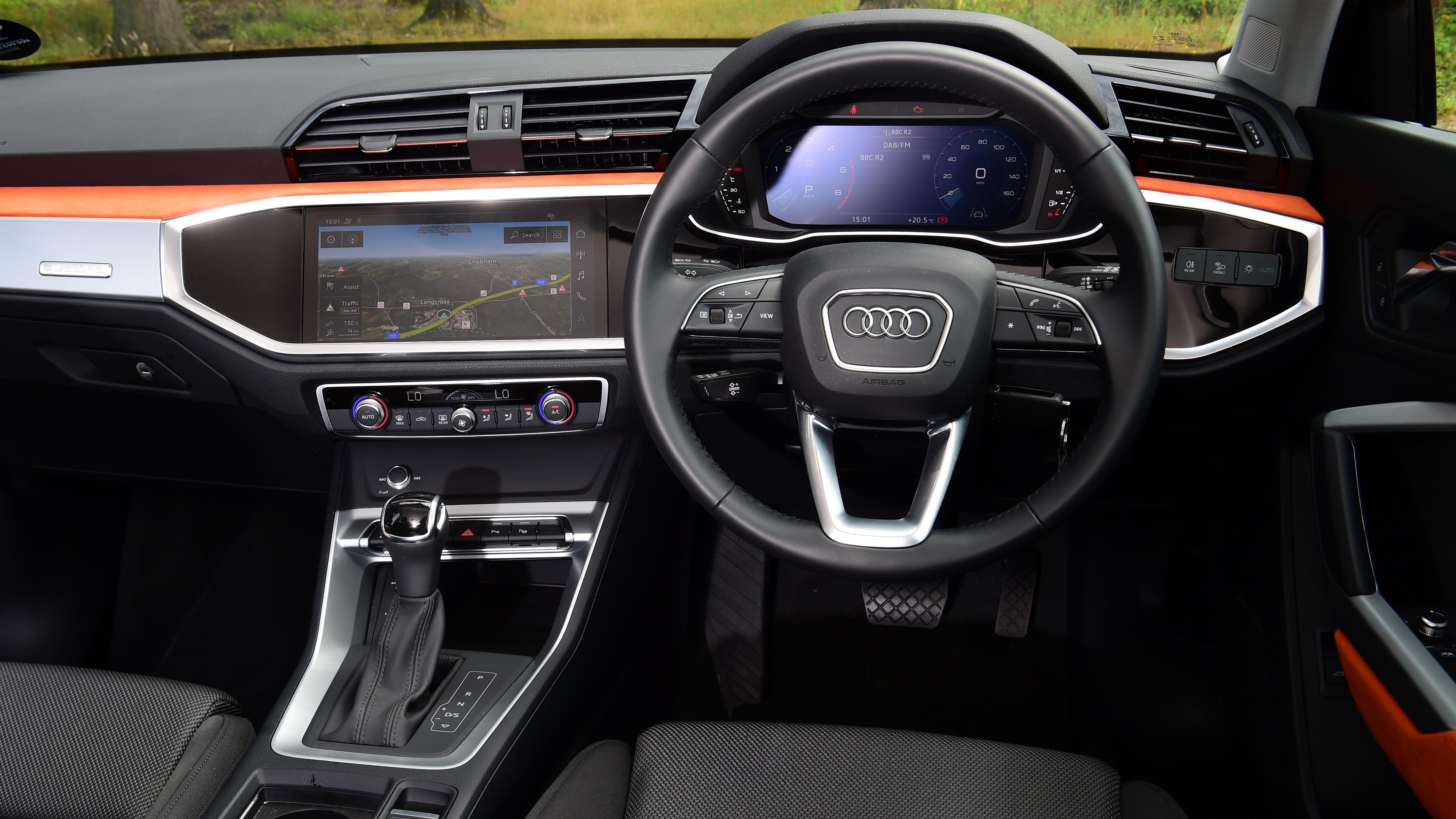 Audi Q3 Suv Interior Comfort 2020 Review Carbuyer