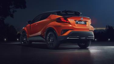 2020 Toyota CH-R Hybrid - rear static 3/4