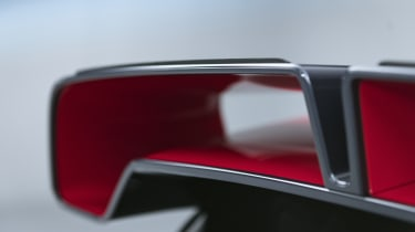 MINI John Cooper Works GP - rear spoiler close up