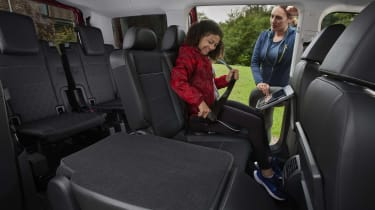 New Ford Tourneo Connect rear seats