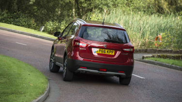 The S-Cross is fun to drive thanks to its grippy and agile handling