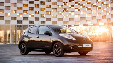The Nissan Leaf is the world's best selling electric car
