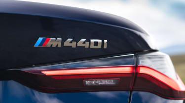 BMW 4 Series Convertible rear badge