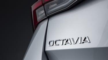 2020 Skoda Octavia badge