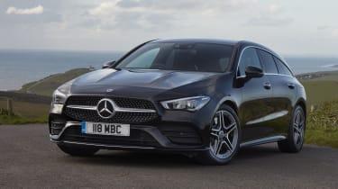 Mercedes CLA Shooting Brake - front end