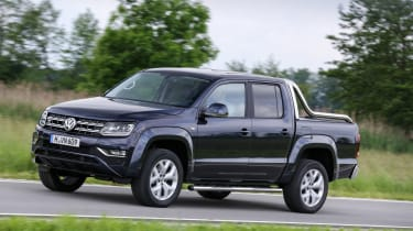 The VW Amarok is an upmarket pickup that could double as a family car