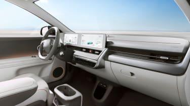 Hyundai Ioniq 5 - interior wide view
