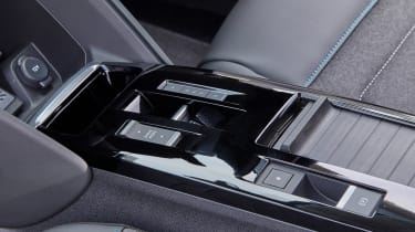 Citroen e-C4 hatchback centre console