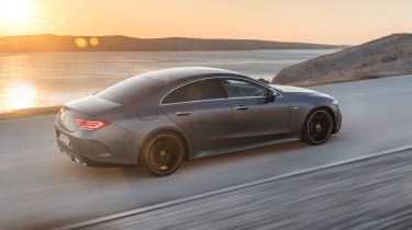 There's also a Mercedes-AMG 53 CLS with 429bhp that cuts the sprint to 4.5 seconds