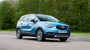 The Vauxhall Crossland X is a small crossover SUV that competes with the Peugeot 2008 and Renault Captur