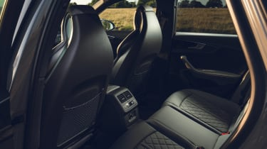 Audi S4 Avant estate rear seats