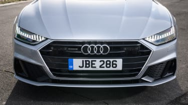 Audi A7 Sportback hatchback nose
