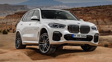 BMW X5 off-road static front
