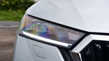Skoda Octavia hatchback headlights