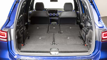 2019 Mercedes GLB - boot with all seats folded