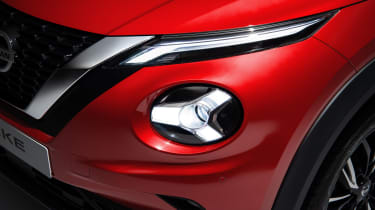 New Nissan Juke headlight