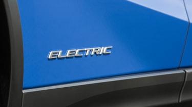 Lexus UX 300e SUV badge