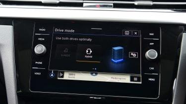 Volkswagen Arteon infotainment screen
