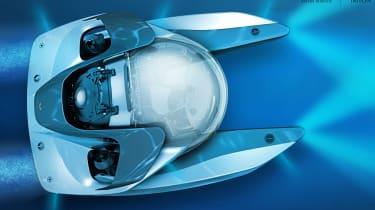 Bonus: Aston Martin submarine
