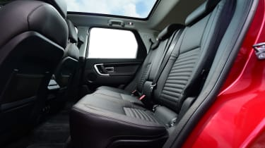 Land Rover Discovery Sport HSE interior rear seats