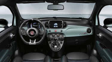 Fiat 500 mild-hybrid - interior