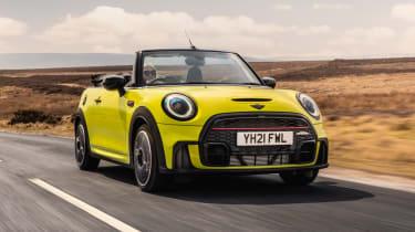 2021 MINI Convertible driving