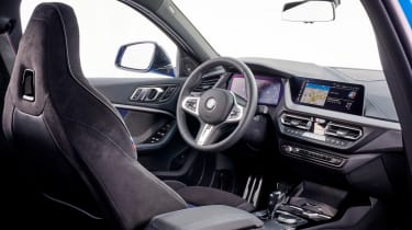 BMW M135i interior - seat in view