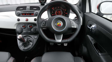 Abarth 500 interior