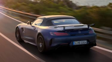 Mercedes-AMG GT R Roadster rear tracking