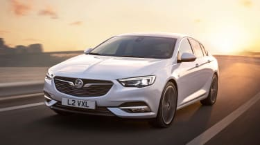 The Insignia Grand Sport is roughly 3 cm lower that the outgoing Insignia, which should improve driver involvement