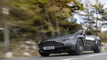 In fact, the V8 has more than enough power to make the DB11 genuinely exciting to drive...