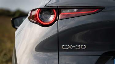 Mazda CX-30 SUV rear lights