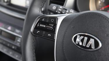 Kia Sorento SUV steering wheel