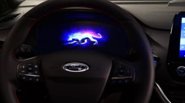 2020 Ford Puma - digital dial cluster