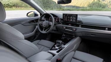 Audi A4 Avant estate dashboard