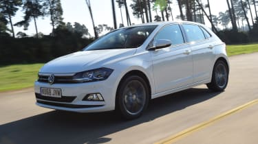Volkswagen Polo - front 3/4 view