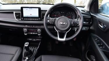 Kia Rio hatchback interior