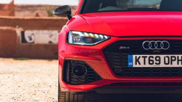 Audi RS4 Avant estate grille