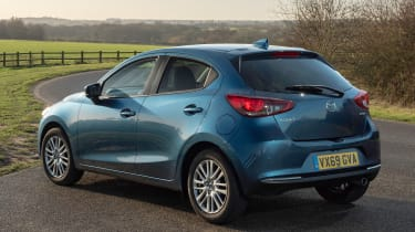 Mazda2 rear