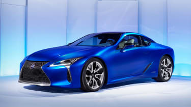 The LC 500 is the starting point in the range...