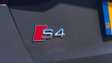 Audi S4 Avant estate badge
