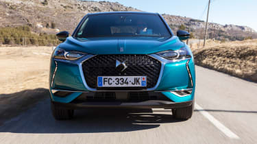 DS 3 Crossback 2019 front tracking