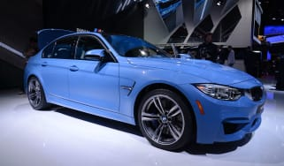 BMW M3 saloon 2014 front static