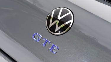 Volkswagen Golf GTE hatchback rear badge