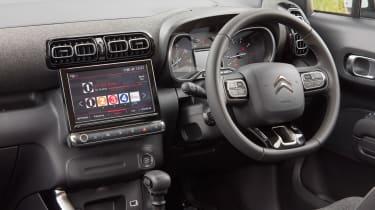 Citroen C3 Aircross SUV dashboard