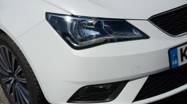 LED running lights and foglights are featured from the SE trim level up