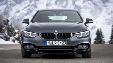 BMW 4 Series Gran Coupe front static